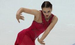 Angelina Kucvalska figure skating