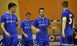 'Nikars' telpu futbolisti nekvalificējas UEFA kausa nākamajai kārtai