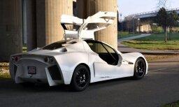 Slovāki 10 gadu laikā radījuši paši savu sportisko auto 'Brutal S1'