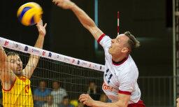 Latvijas volejbolists Petrovs: maķedonieši neko jaunu neizdomāja un mēs to izmantojām