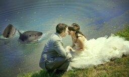 Jokaini un bezgaumīgi: foto pērles no krievu kāzām