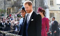 Saseksas hercogu pāris pārkāpj karalisko protokolu