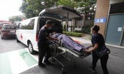 Ugunsgrēkā slimnīcā Taivānā gājuši bojā vismaz deviņi cilvēki