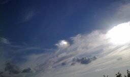 Foto: Lasītājs debesīs virs Pierīgas ierauga NLO