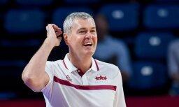 Багатскис оставит пост главного тренера сборной Латвии по баскетболу