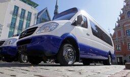 Rīgas domē spriedīs par mikroautobusu satiksmes nākotni galvaspilsētā