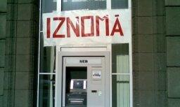 Iznomā bankomātu?