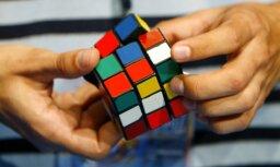 В Риге пройдет турнир по сборке кубика Рубика