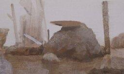 Galerijā 'Daugava' aplūkojama Andra Eglīša izstāde 'Kaut kur tepat'