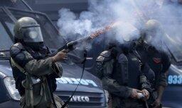 Argentīnas pensiju reforma izraisa masu protestus