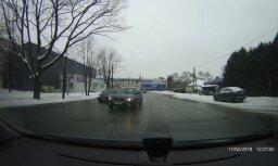 ВИДЕО: Зачем? Опасный обгон в исполнении водителя Subaru