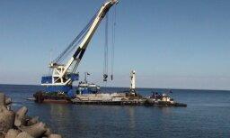 Ventspils ostā kravu apgrozījums pērn samazinājies par 16,4%