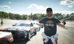 Blušs sasniedz 13. vietu 'Formula Drift' sezonas pirmspēdējā etapā