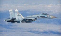 Bruņots Krievijas iznīcinātājs virs Baltijas jūras pielidojis cieši klāt ASV izlūkošanas lidmašīnai