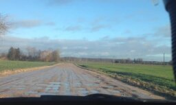 Video: Latvijas ceļu 'spožums un posts'; lasītājs apsver vākt līdzekļus ceļiem