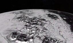 Video: NASA fiksējusi slāpekļa ledāju kustību uz Plutona