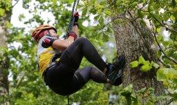 Foto: 'xRace' piedzīvojums turpinās Talsu izaicinošajos pakalnos un dubļos