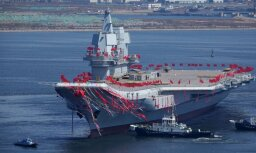 """Китай представил первый """"свой"""" авианосец — модернизированный советский """"Кречет"""""""