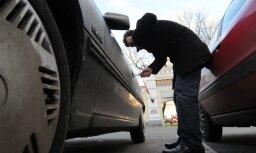 Полиция задержала автовора, промышлявшего в Межциемсе и на Югле