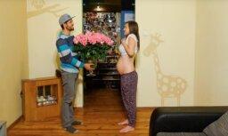 Pašmāju interneta hits: Daces grūtniecība vienā minūtē