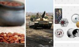 25 апреля. Эксперимент по выживанию, расходы Латвии на оборону, монета года