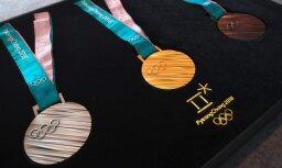 ВИДЕО: Представлены медали зимней Олимпиады-2018