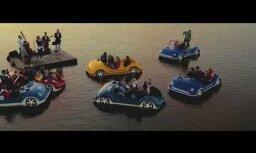 Lake Music — лиепайский концерт на озере во время заката