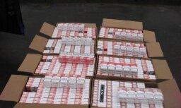 Пограничники провели обыск и изъяли 150 000 контрабандных сигарет