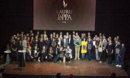 Ceremonijā 'Lauru LaPPA' apbalvoti labākie pasākumu nozares pārstāvji