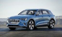 'Audi' prezentējis sērijveida elektrisko apvidnieku 'e-tron'