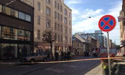 ФОТО: из-за утечки газа блокировано движение на ул. Тербатас