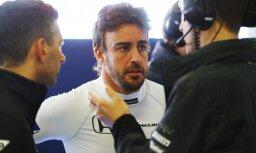 Arī Alonso neapmierināts ar 'Honda' dzinējiem