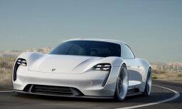'Porsche' dubultos investīcijas elektrisko auto izstrādei