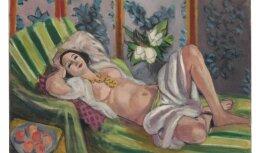 Rokfellera mākslas kolekcijas izsolē Monē un Matisa darbi pārdoti par rekordcenām