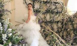 Krāšņi foto: Kā precējās Honkongas augstākās sabiedrības dāma