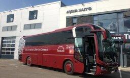MAN koncerns rada Latvijas simtgadei veltītu autobusu