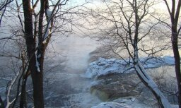 Ventas rumba ziemas saltumā