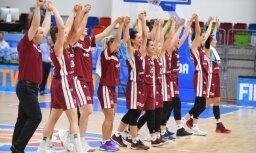 Latvijas basketbolistes gāž no troņa Eiropas čempionvienību Serbiju