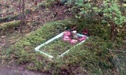 Noslēpumaini kapi Šmerļa mežā