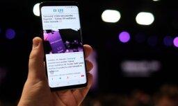 'Delfi' no Barselonas: 'Samsung' ar vērienu izrāda jauno 'Galaxy S9'