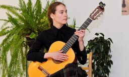Fotoreportāža: Noskaidroti labākie Latvijas jaunie ģitāristi