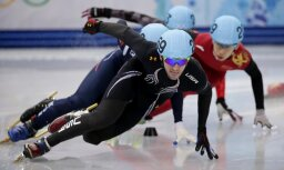 Amerikāņu olimpiskais vicečempions šorttrekā diskvalificēts par dopinga lietošanu