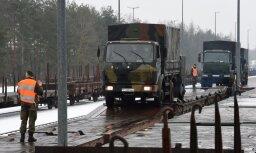 """Германия отправляет танки в Литву для """"сдерживания России"""""""