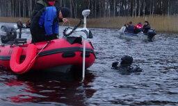 Добровольцы нашли тело утонувшего в Дуньэзерсе рыбака