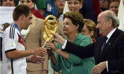 Vācija mērķtiecīgi gāja uz uzvaru Pasaules kausā, saka izlases kapteinis Lāms