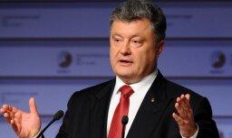 Porošenko: cīņā ar Krievijas agresoru krituši jau 2896 ukraiņu karavīri