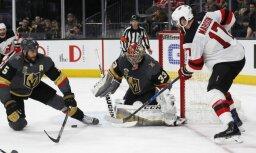 Video: Ņūdžersijas 'Devils' pēc 10 gadu pārtraukuma gūst astoņus vārtus NHL spēlē