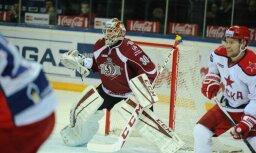 Video: Ēriksonam KHL nedēļas skaistākais atvairītais metiens