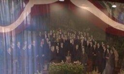 ВИДЕО: Фотографию самого исторически важного для Латвии момента спас энтузиаст