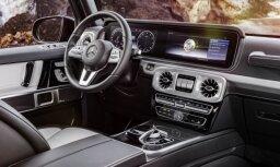 'Mercedes' parādījis jaunā G-klases apvidnieka interjeru